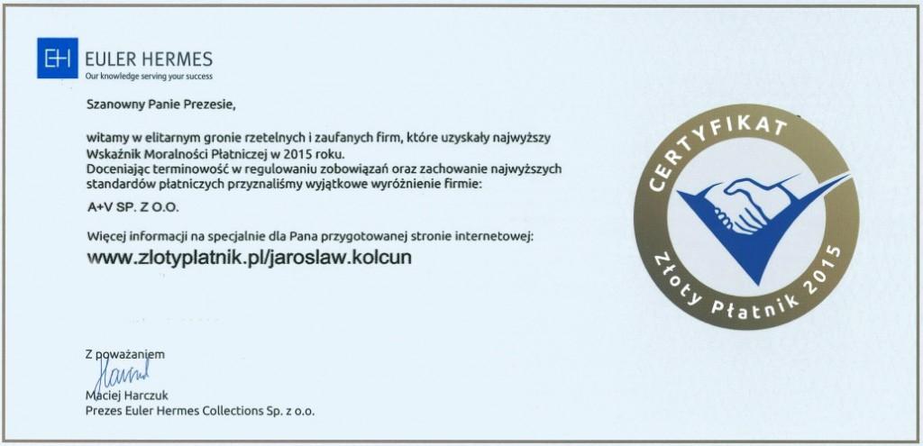 EH - certyfikat2