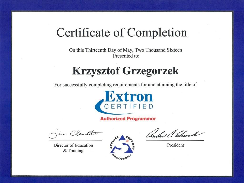 Extron KGR xx