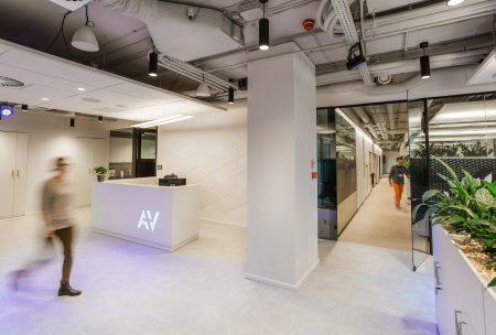 recepcja w nowym biurze A+V