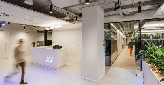 Nowe biuro A+V docenione