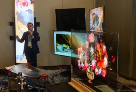 Prezentacja produktów na LG Information Display Seminar